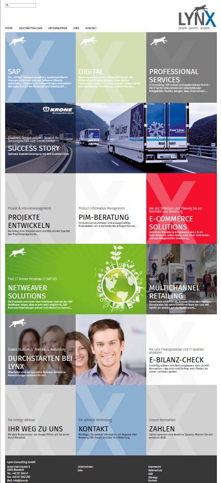 IT-Unternehmensberatung: Die neue Lynx-Consulting Website ist online!