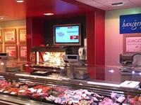 NEXGEN smart instore punktet mit Digital Signage bei REWE Markt-Stolper