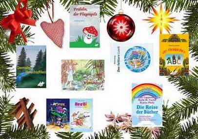 Legen Sie doch ein schönes Buch unter den Weihnachtsbaum