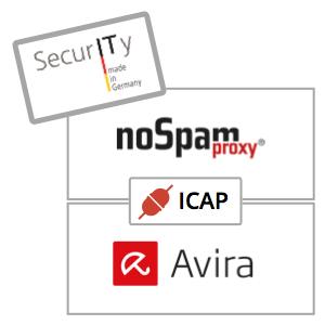 NoSpamProxy jetzt mit ICAP und Avira Virenscanner