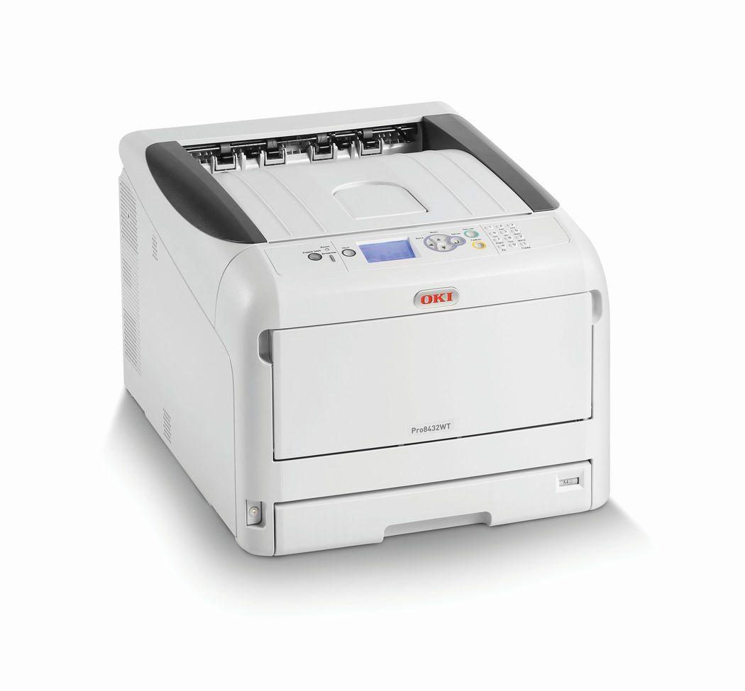 OKI launcht weltweit kompaktesten A3-Weißtoner-Drucker