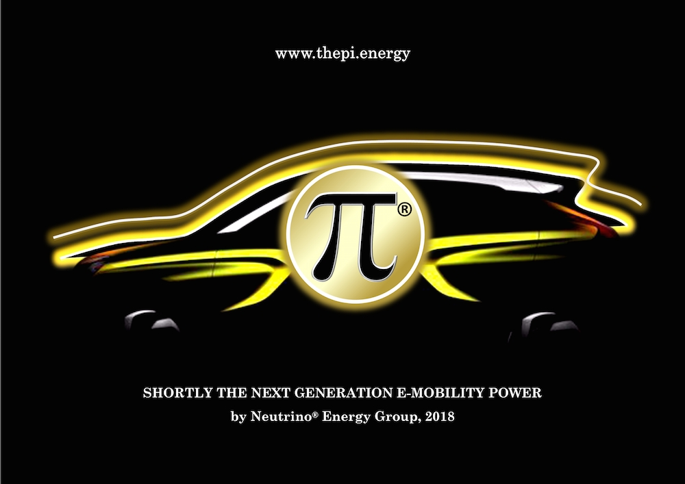 Automarke Pi der NEUTRINO ENERGY GROUP als elektromobile Innovation