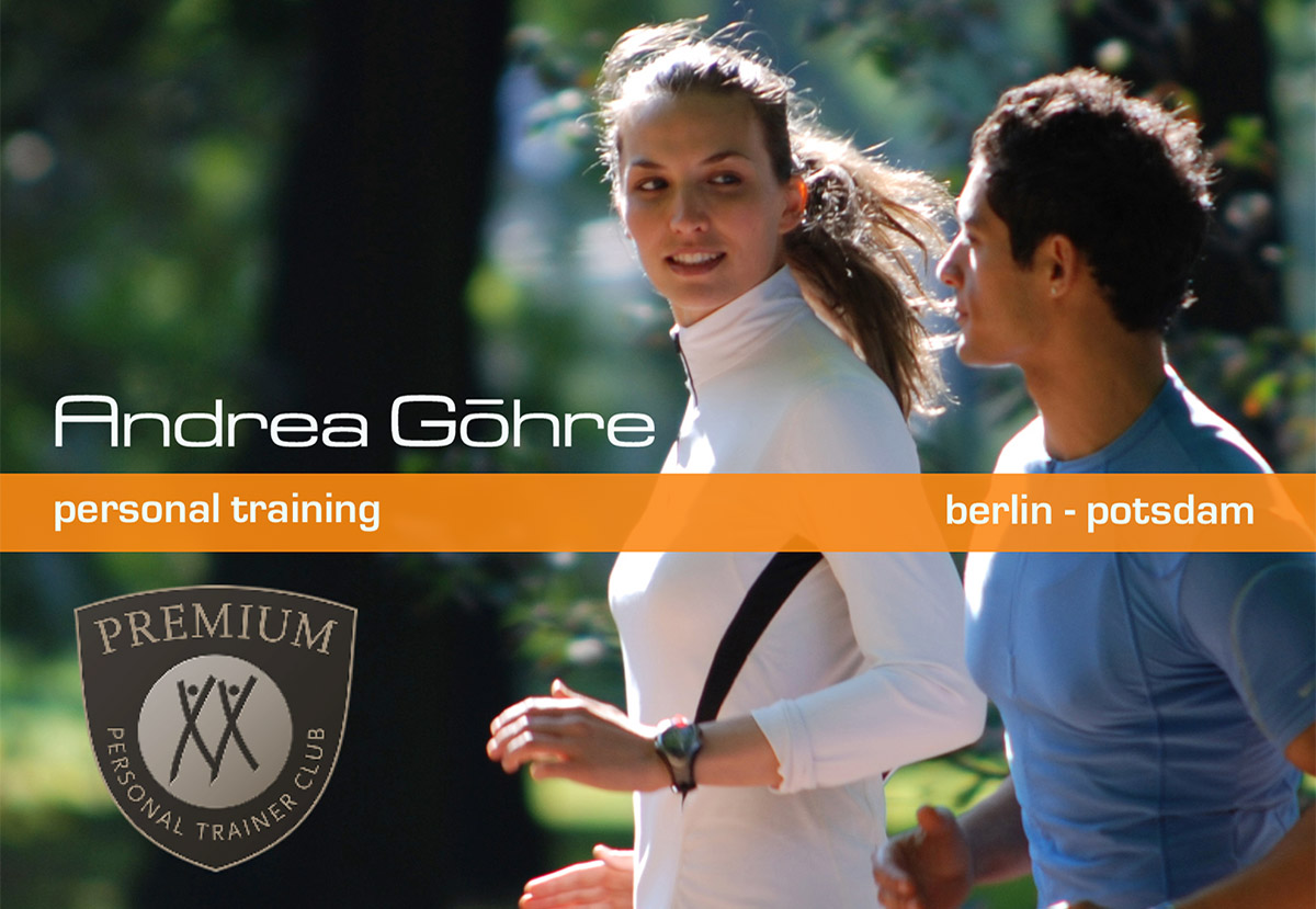 Personal Training - Andrea Göhre - jetzt auch in Potsdam !