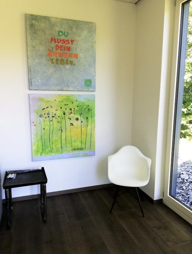 Schöne Wandbilder für Geschäftsräume - Showroom eröffnet
