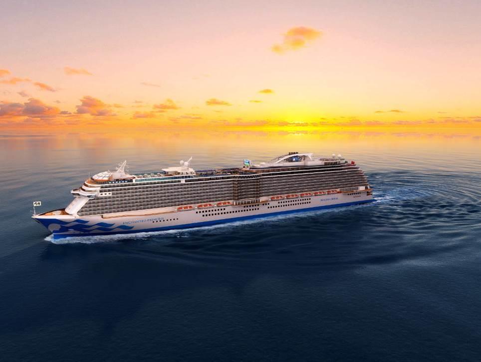 Princess Cruises: Fünftes Royal-Class-Schiff heißt Enchanted Princess