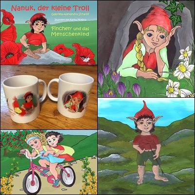 Nanuk, der kleine Troll: Finchen und das Menschenkind
