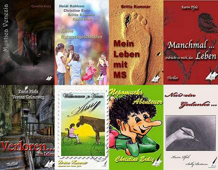 Bücher mit Wiedererkennungswert, die schon zahlreiche Leser überzeugt haben