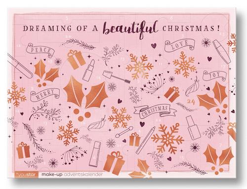 Alle Jahre wieder: Make-Up- und Nagellack Adventskalender von youstar