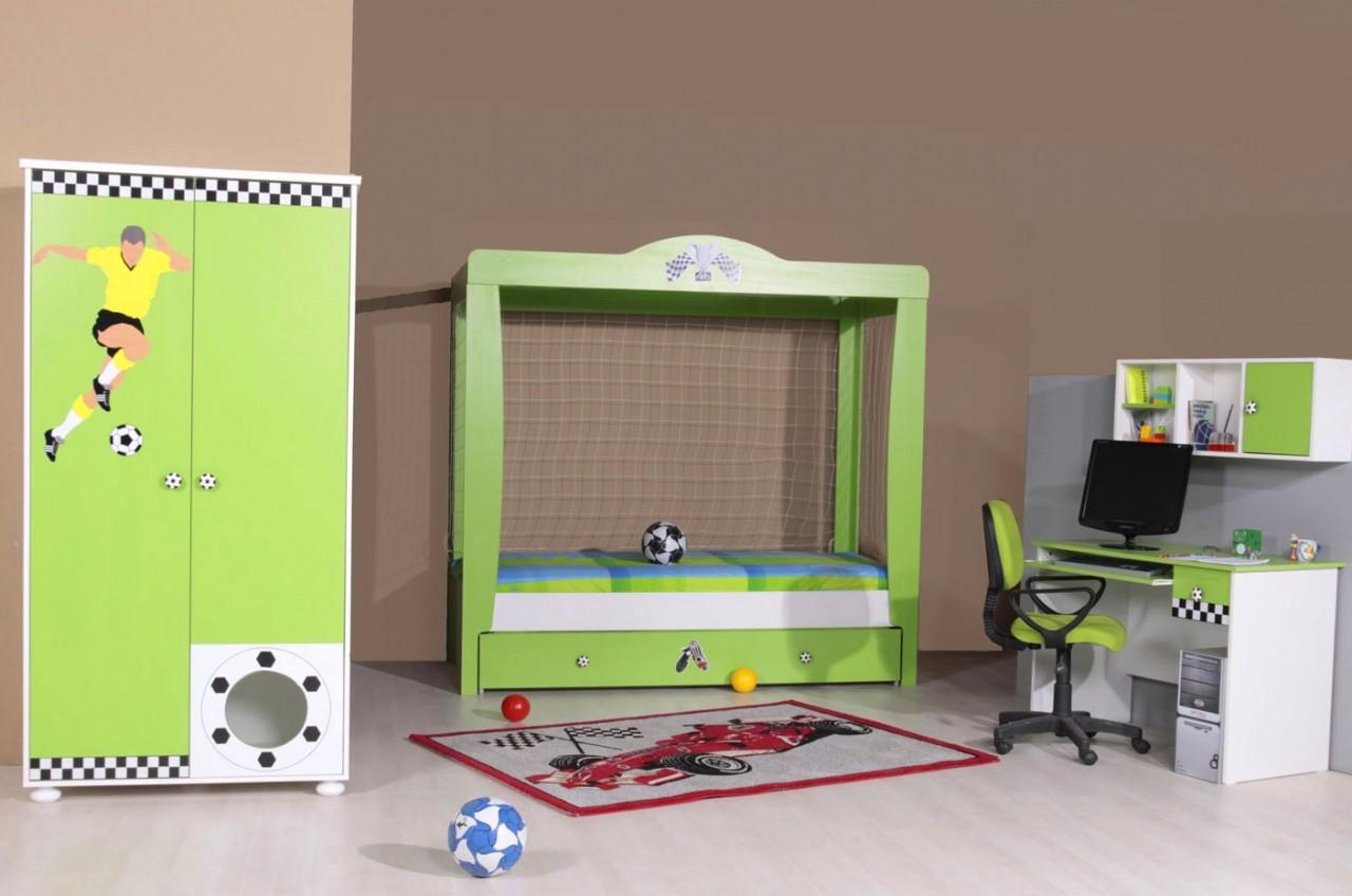 Das perfekte Kinderzimmer für die Fußballstars von morgen