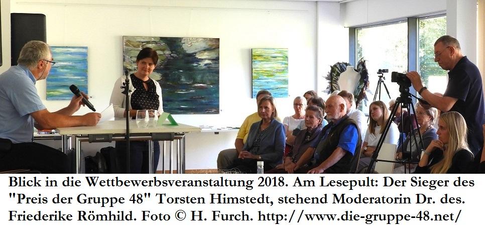 Ausschreibung des Literaturwettbewerbs 2019 der Gruppe 48 e.V.