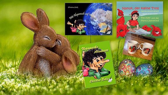 Zu Ostern tummein sich Kobolde und Trolle im Karina-Verlag