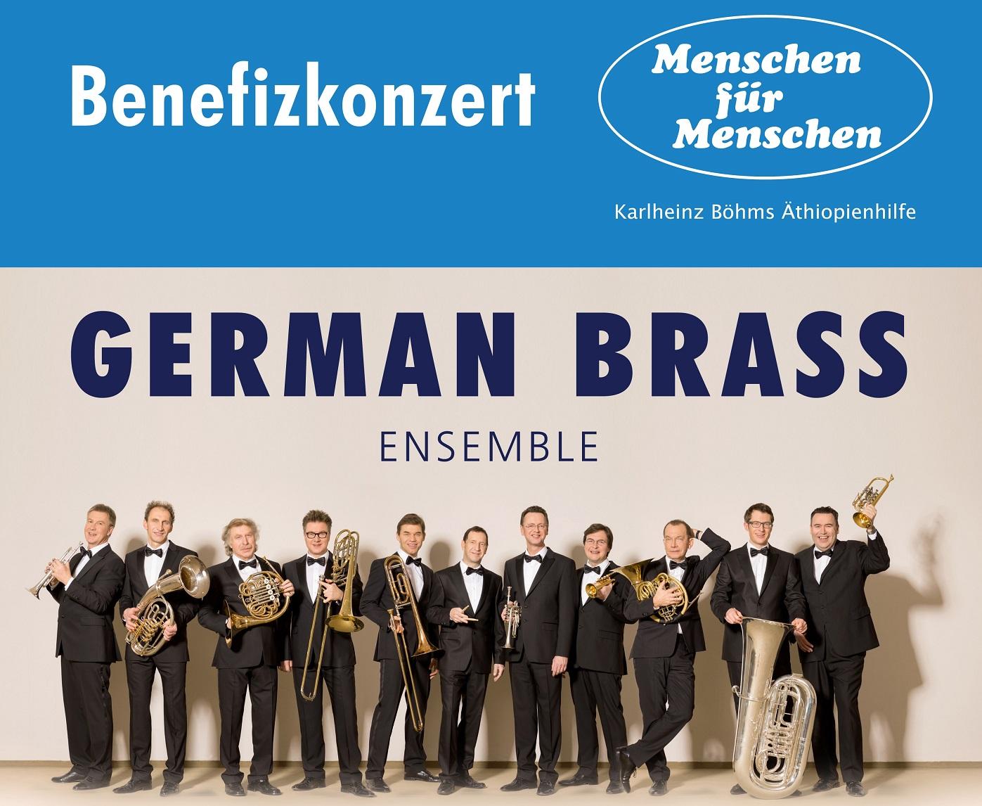 German Brass für Karlheinz Böhms Äthiopienhilfe
