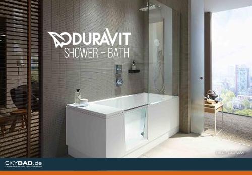 Wanne und Dusche trotz kleinem Bad?