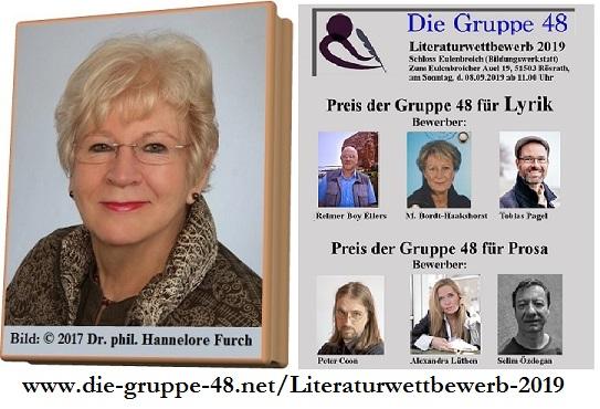 Dr. Hannelore Furch (Gruppe 48) Literaturwettbewerb