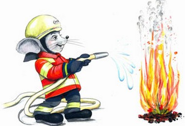 Feuerwehrmaus Florentino Florian