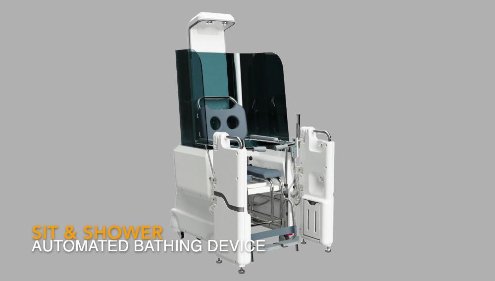 Sit & Shower - Ein innovatives Duschsystem für ältere und eingeschränkte Menschen