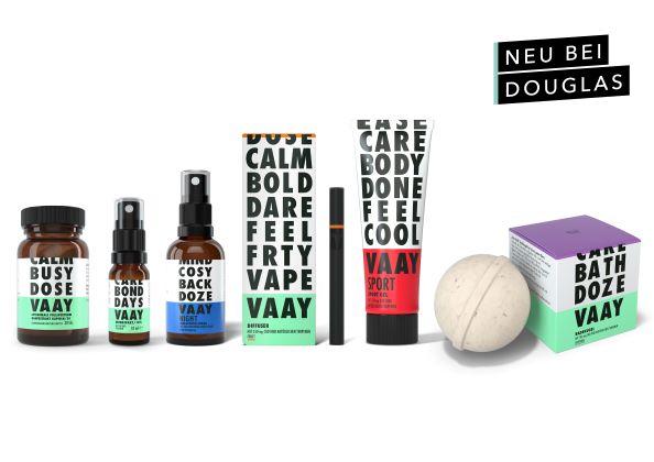 VAAY CBD-Produkte ab jetzt bei Douglas