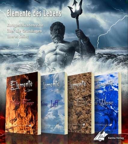 """Buchreihe """"Elemente des Lebens"""" aus dem Karina-Verlag"""