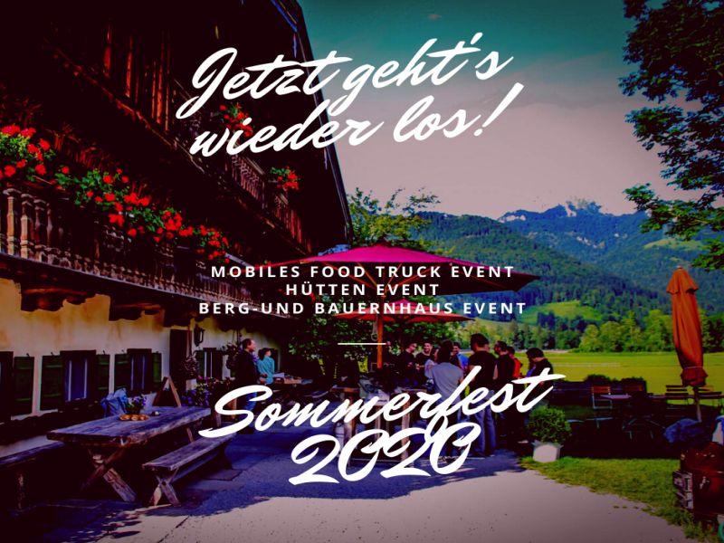 Sommerfest 2020: jetzt geht´s los