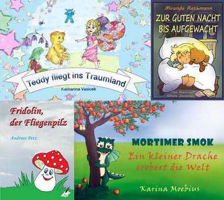 Buchtipps aus dem Karina-Verlag, die sich gut zum Vorlesen eignen