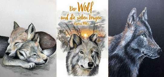 Begleiten Sie die Wölfin Karu und ihre Welpen und erleben mit ihnen das Abenteuer Wildnis