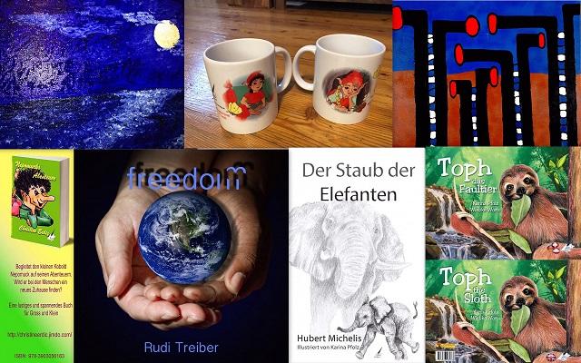 Bücher, Kunst und vieles mehr im Karina-Verlag