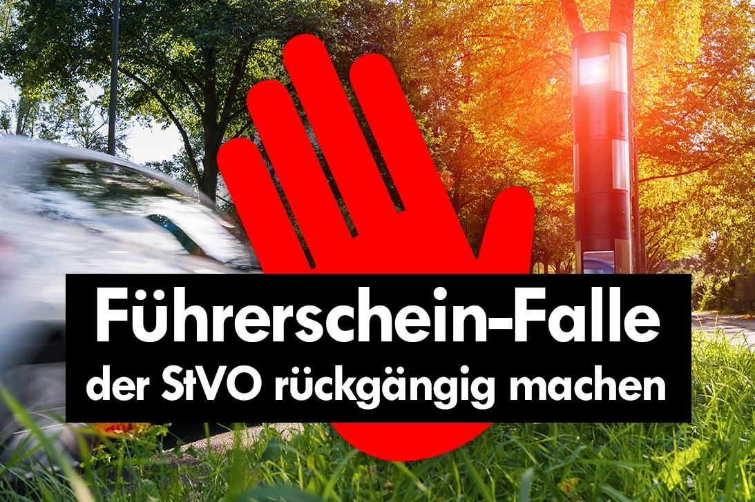 Petition mit 160.000 Unterschriften erfolgreich: StVO-Novelle vom 28. April fällt – Strafen werden herabgesetzt