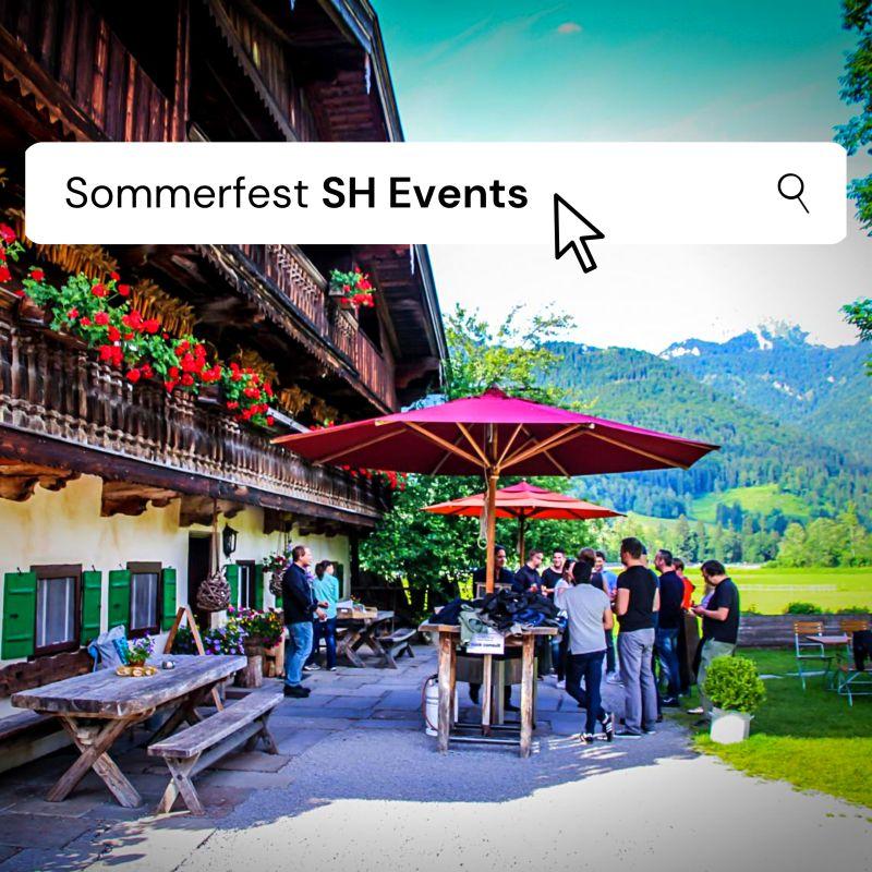 Ein Sommer, den wir nie vergessen werden: Schnappen Sie sich dieses Jahr noch Ihr unvergessliches Sommerfest!