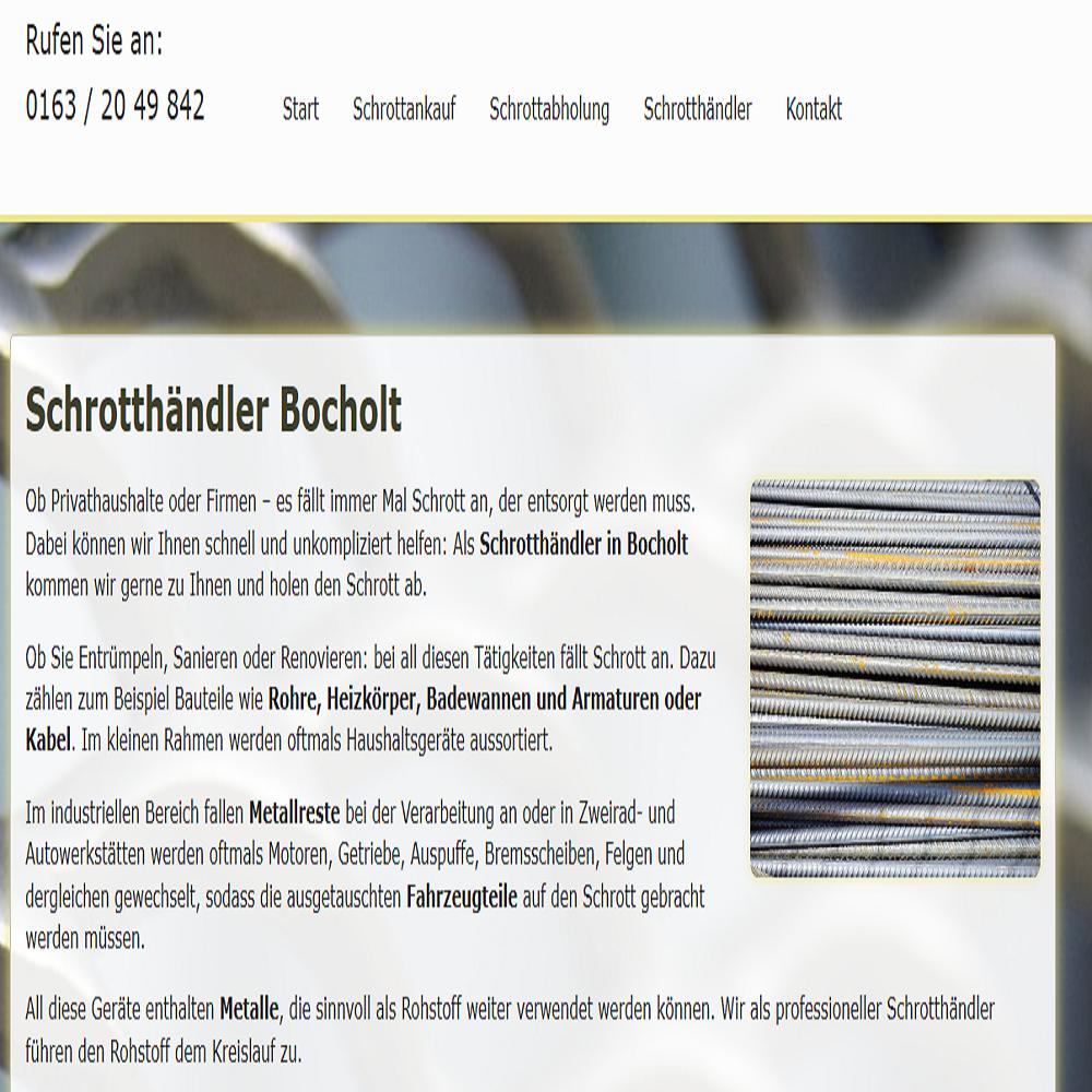 Schrotthändler Bocholt _ Schrott-Ankauf-NRW