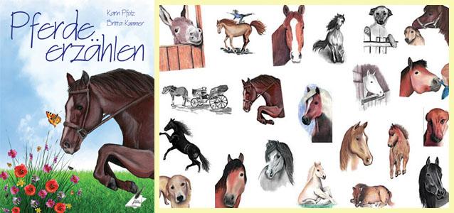 """Wer Pferde liebt, kommt bei den Geschichten aus """"Pferde erzählen"""" voll auf seine Kosten"""