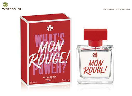 Der neue Duft von Yves Rocher: MON ROUGE