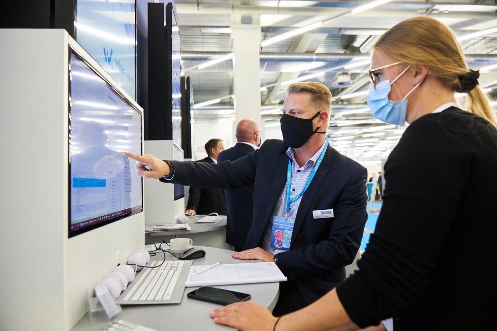 Rund 1.000 Teilnehmer beim DIGITAL FUTUREcongress (DFC) am 17.09.2020 im MOC Halle 3 und 4 der Messe München