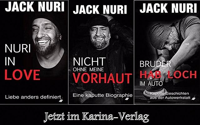 Bücher von Jack Nuri im Karina-Verlag