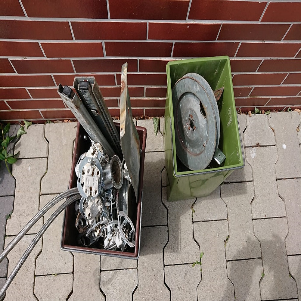 Die Schrottgruppe in Dinslaken verkauft Schrott an Recyclinganlagen