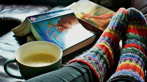 Lesen ist Entspannung und macht Spaß