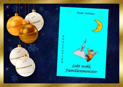 Geschenkidee zum Weihnachtsfest: Lebt wohl, Familienmonster