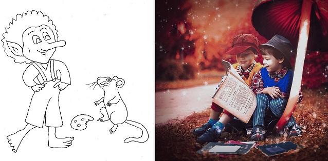 Tolle Abenteuergeschichten rund um einen Kobold und eine Maus
