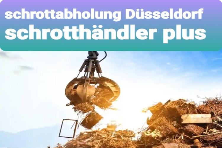 der Schrottabholung Düsseldorf & Wir entsorgen kostenlos, schnell und unkompliziert Ihren Schrott
