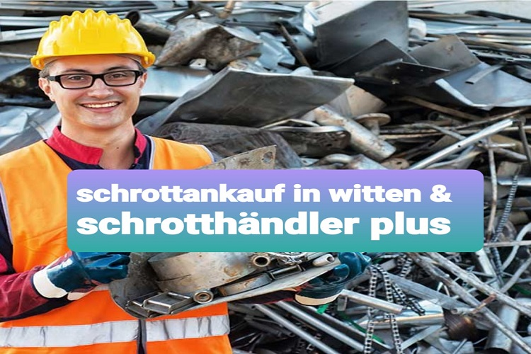 Mobiler Schrottankauf in Witten - Fair den Schrott und Metall