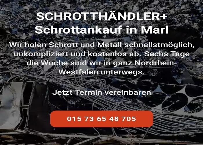 Wir kaufen Ihr Altmetall durch Der Schrottankauf Marl fairer Altmetall Ankauf