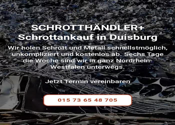 Altmetallschrott Ankauf ob Sie Geschäfts - oder Privatkunde sind. Wir holt alles durch Schrottankauf Duisburg