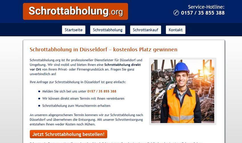 Umweltschutz hat oberste Priorität: Die Schrottabholung in Düsseldorf hilft dabei, die Umwelt zu entlasten
