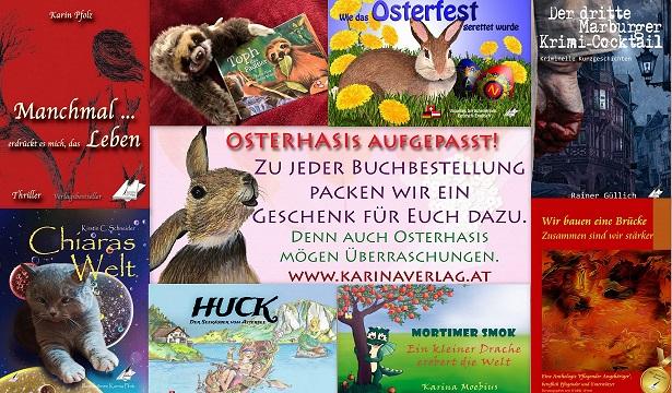 Eine tolle Osteraktion vom Karina-Verlag
