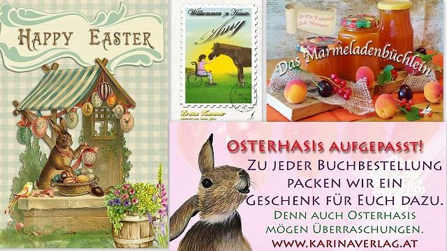 Bestellen Sie diese beiden Bücher jetzt noch schnell im Karina-Verlag