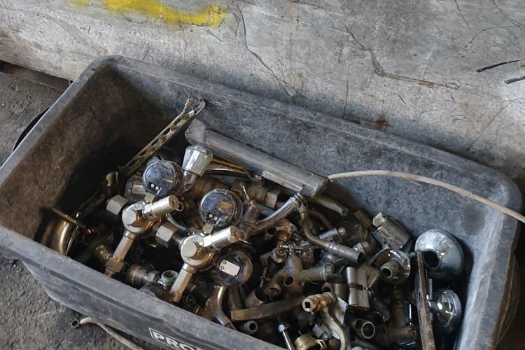 in Bottrop und Umgebung, Mobile Schrotthändler holen Schrott und Metall ab
