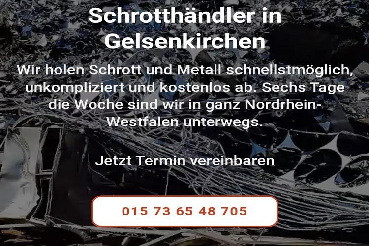 Ob Privatperson oder Gewerbetreibender – wer Schrott entsorgen durch Schrotthändler Gelsenkirchen