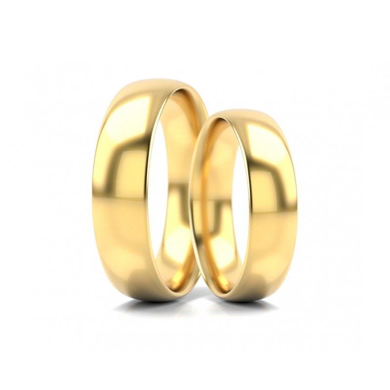 Mehr Informationen zur Ehering Gold Schlicht