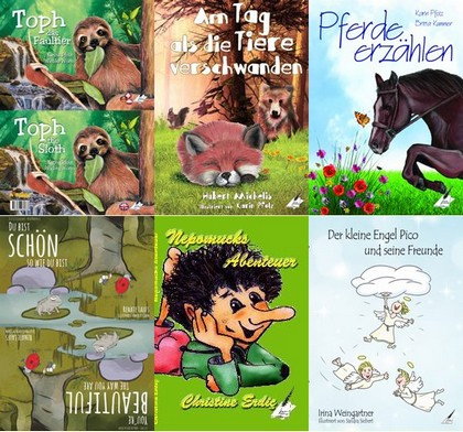 Entdecken Sie das tolle Sortiment an wunderbaren Kinderbüchern aus dem Karina-Verlag