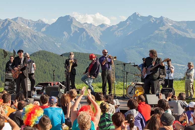 Musicastelle: Livemusik vor Traumkulisse im Aostatal