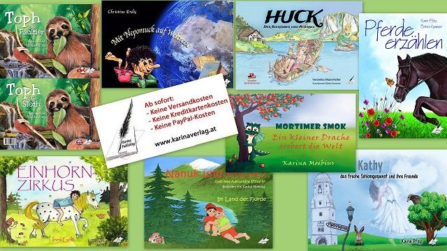 Bunte Geschichten aus der fantasievollen Welt der Kinderliteratur